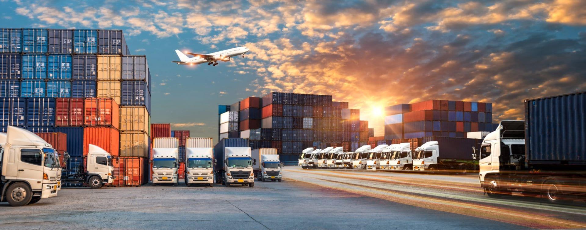 trucks and cargos