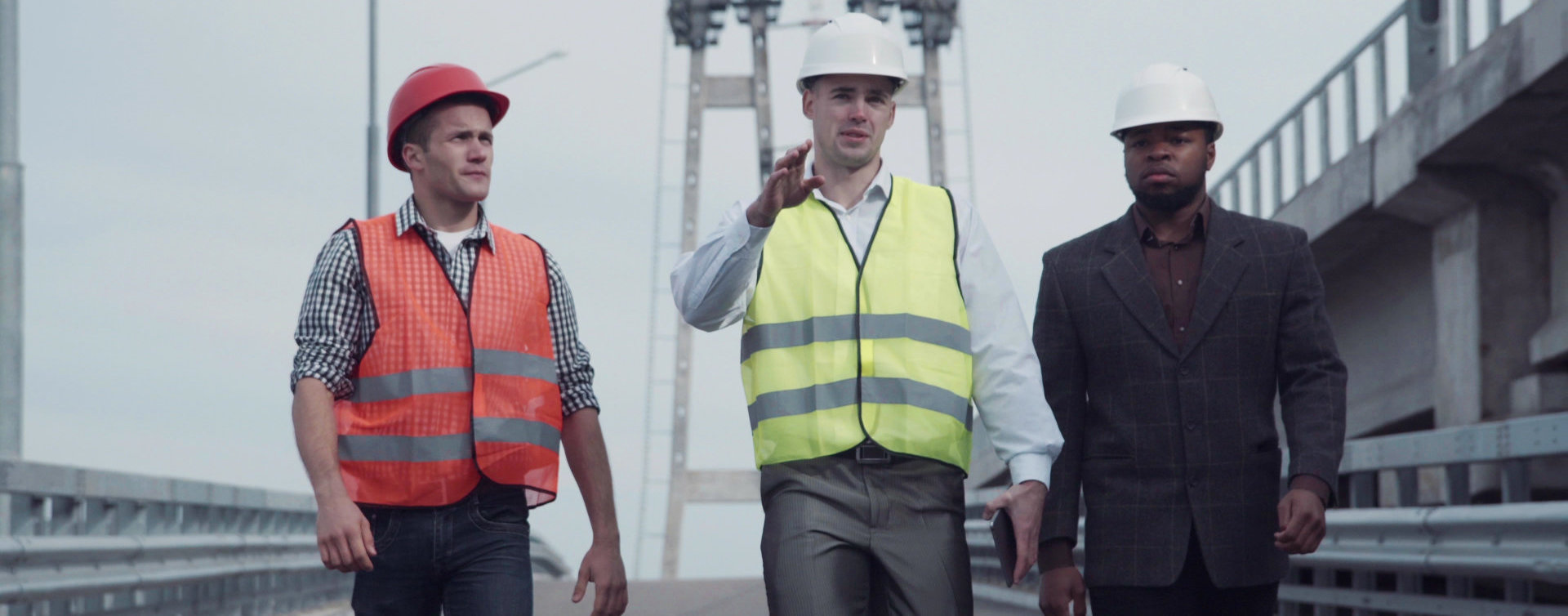 engineers doing site visits