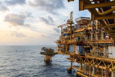 offshore oil and gas central processing