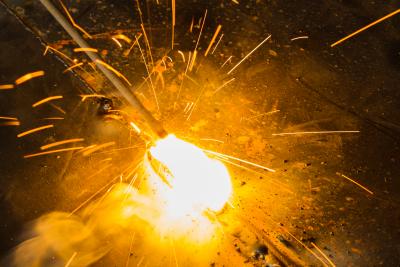 portrait of welding